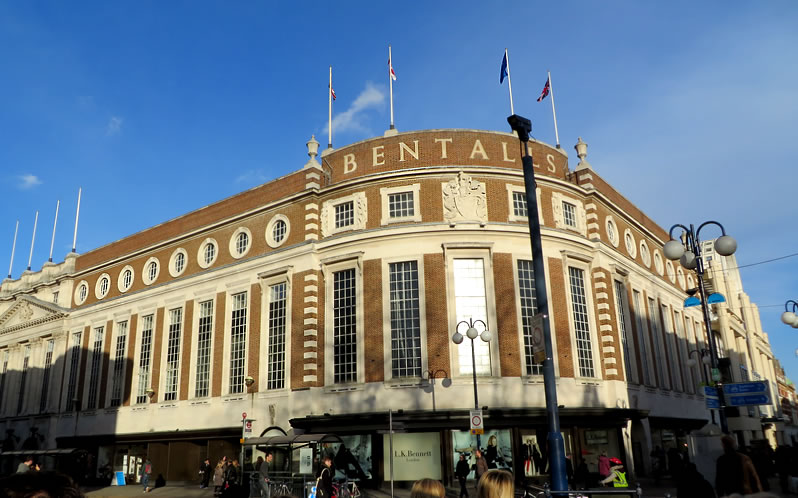 Bentalls department store in Kingston